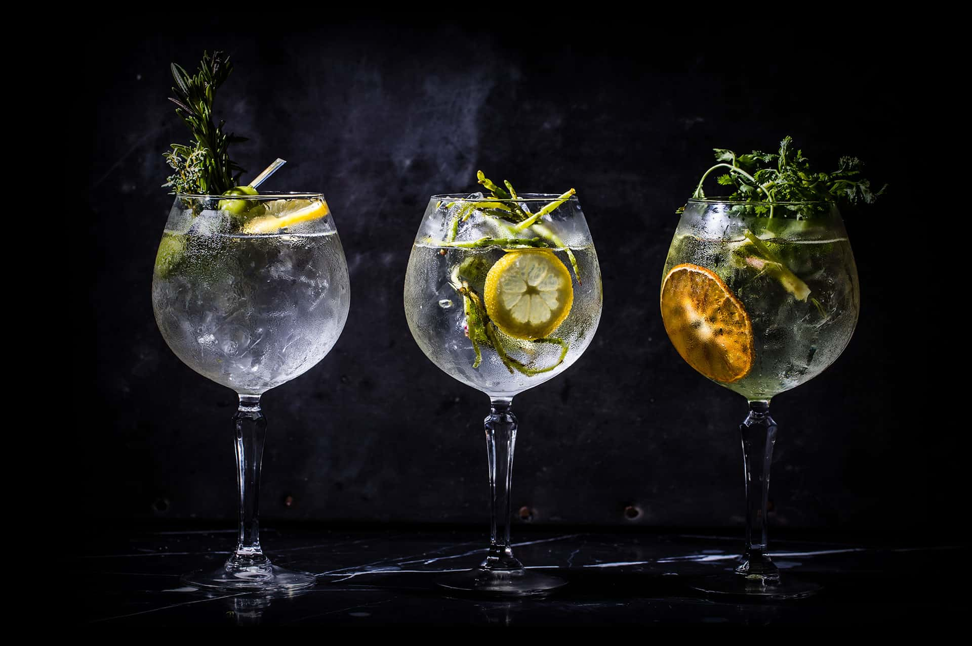 Gin and Tonic Range